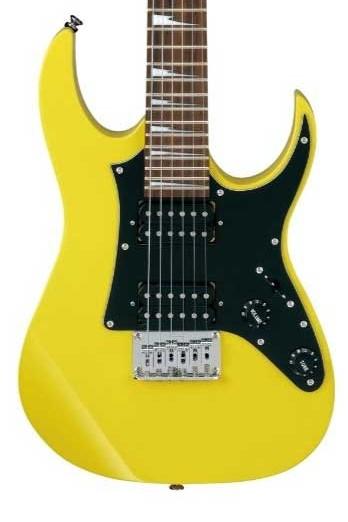 Ibanez-Kinder-E-Gitarre-gelb