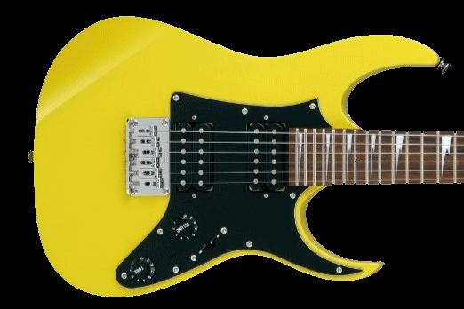 Gelbe Ibanez Kinder E-Gitarre