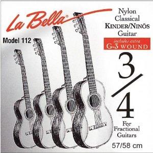 LaBella Kindergitarren Gitarrensaiten 3/4