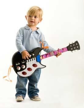 Spielzeuggitarren machen Spaß!