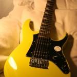 Ibanez Gio-Mikro Kinder-E-Gitarre GRGM21GB-YL