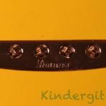 Ibanez-Gio-Mikro Saitenführung durch den Gitarrenkorpus