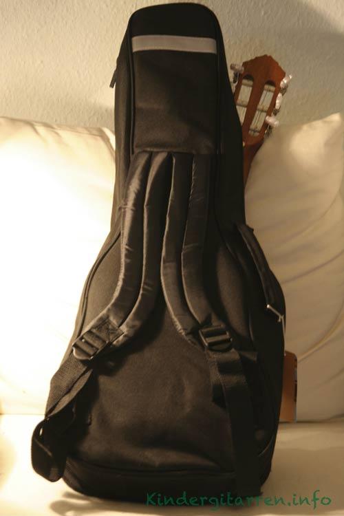 Ortega-r121 1/4 Gitarrentasche mit Gurten