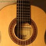Ortega-r121 1/4 Kindergitarre Schallloch