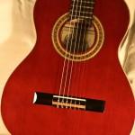Ortega-r121 3/4 Kindergitarre in weinrot