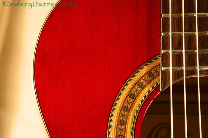 Ortega-r121-3/4-Kindergitarre-Rosette