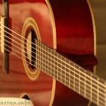 Ortega-r121 3/4 Kindergitarre in schickem rot