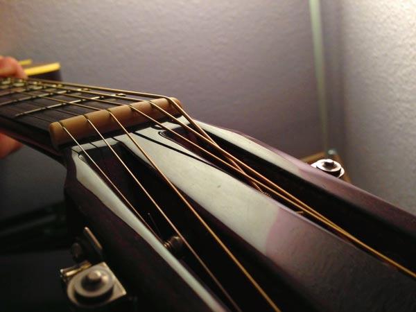 Sattel Gitarre