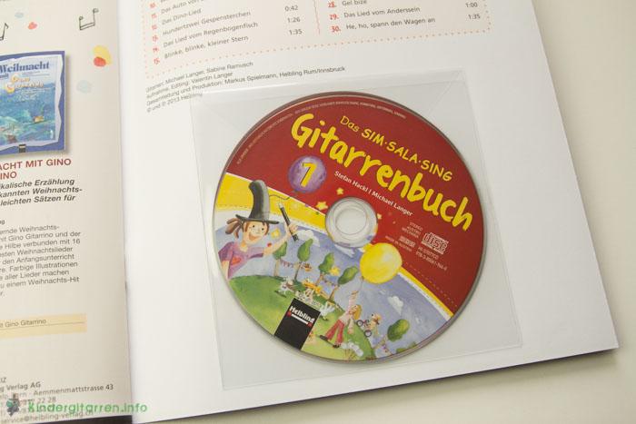 Sim Sala Sing Gitarrenbuch CD