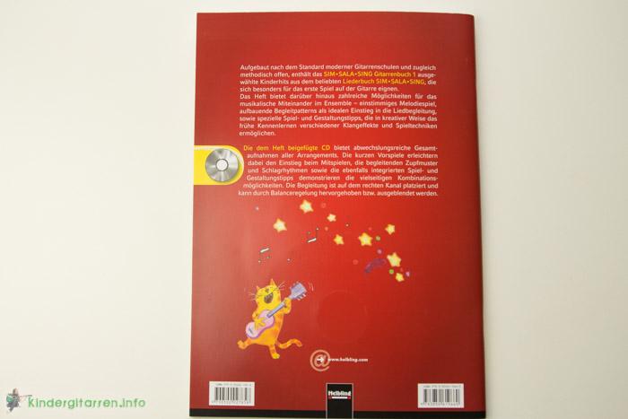 Sim Sala Sing Gitarrenbuch Rueckseite