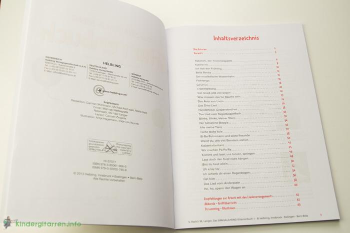 Sim Sala Sing Gitarrenbuch Inhalt