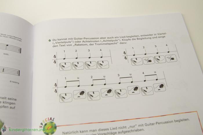 Sim Sala Sing Gitarrenbuch Percussion