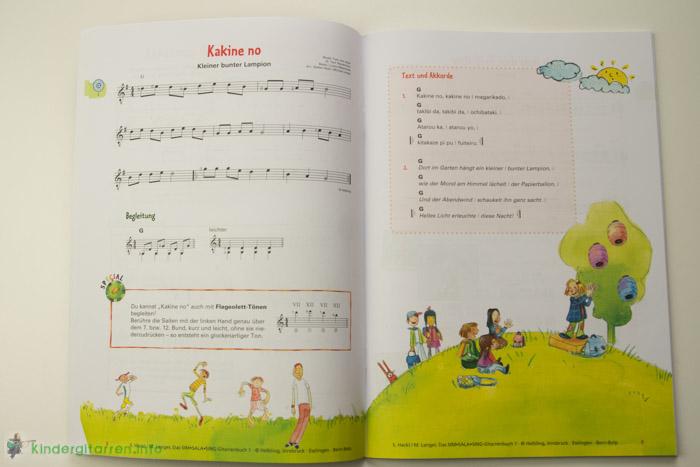 Sim Sala Sing Gitarrenbuch Lied
