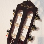 Ortega r121 1/2 Headstock frontal