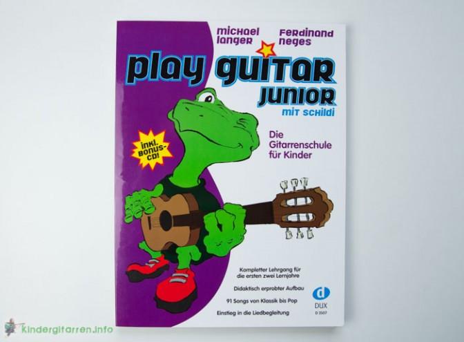 Play Guitar mit Schilde - Gitarrenschule für Kinder - Frontseite