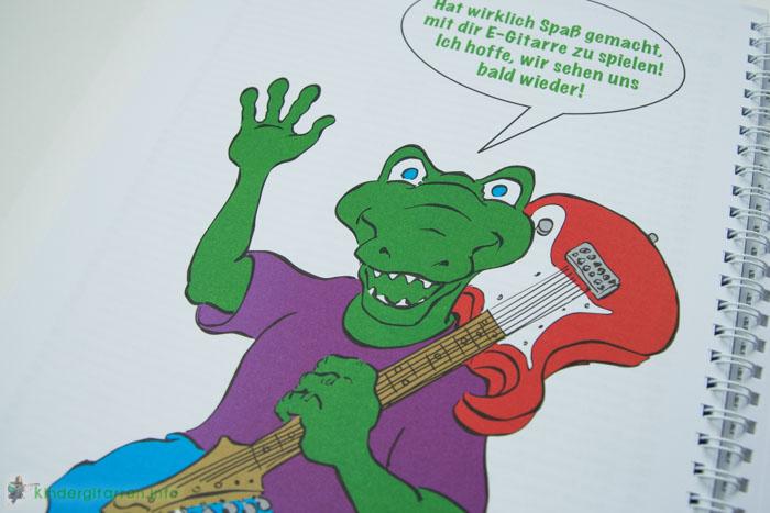 Rockodil - Kinder E-Gitarren Lehrbuch - Ende