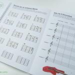 Rockodil - Kinder E-Gitarren Lehrbuch - Übersicht und Aufgaben