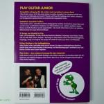 Play Guitar mit Schilde - Gitarrenschule für Kinder -  Rückseite