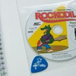 Rockodil - Kinder E-Gitarren Lehrbuch - CD und Plektrum