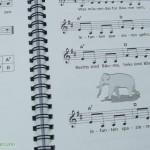 Kinderlieder mit einfachen Gitarrengriffen - Zeichnungen