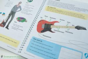 Rockodil - Kinder E-Gitarren Lehrbuch - Die E-Gitarre