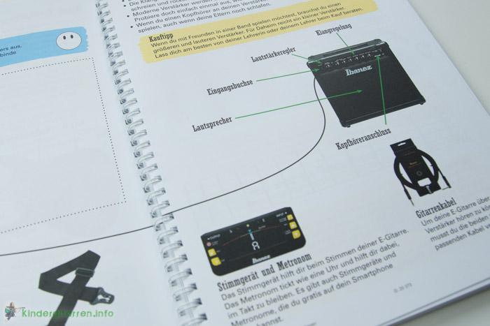 Rockodil - Kinder E-Gitarren Lehrbuch - Verstärker