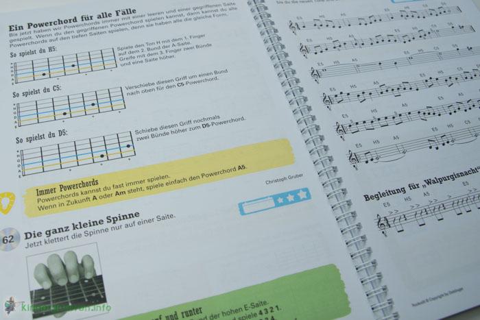 Rockodil - Kinder E-Gitarren Lehrbuch - E-Gitarren Technik