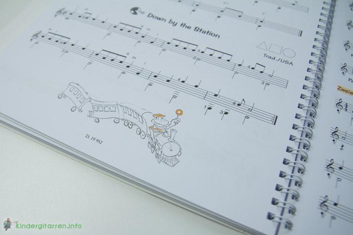 Play Guitar mit Schilde - Gitarrenschule für Kinder -  Zeichnungen